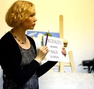 Мастер класс каллиграфии в Art Creatyvity